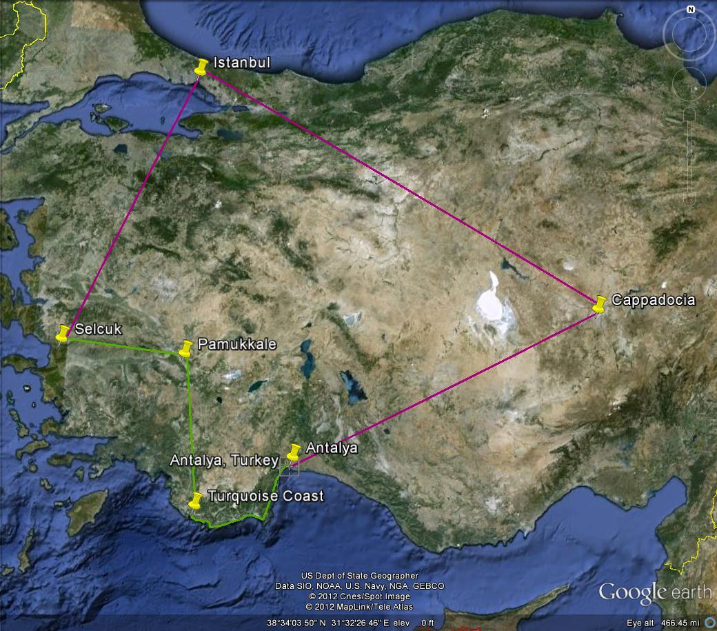 Kayseri Map%0A Instanbul