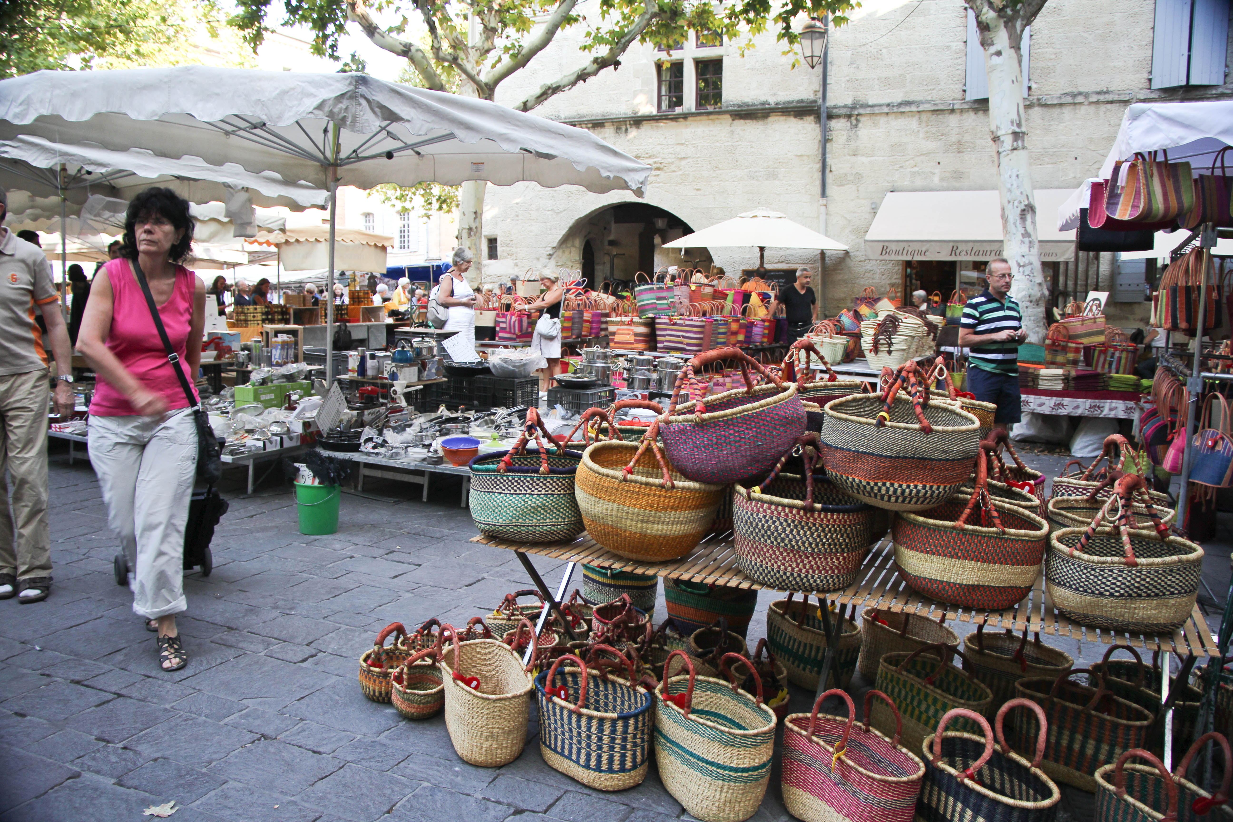 Uzes France  city photo : ... Market – End of Summer in the South of France | Cooking in Tongues