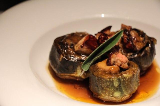 Artichoke with Foie Gras