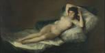 Goya's Nude Maja.Photo from the Prado Musem website.
