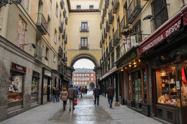 Madrid - old town