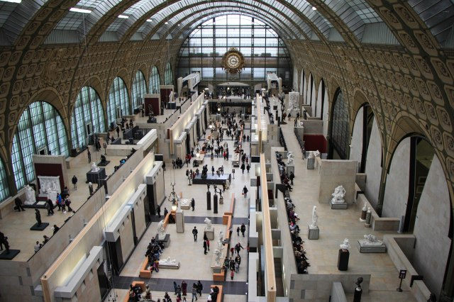 Musee D'Orsay - Thursday Afternoon in February
