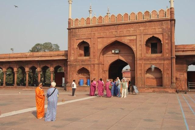 Old Delhi - Jama Masjid Mosque