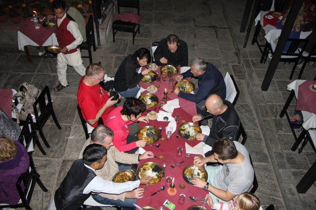 Kathmandu - Thamal House Restaurant