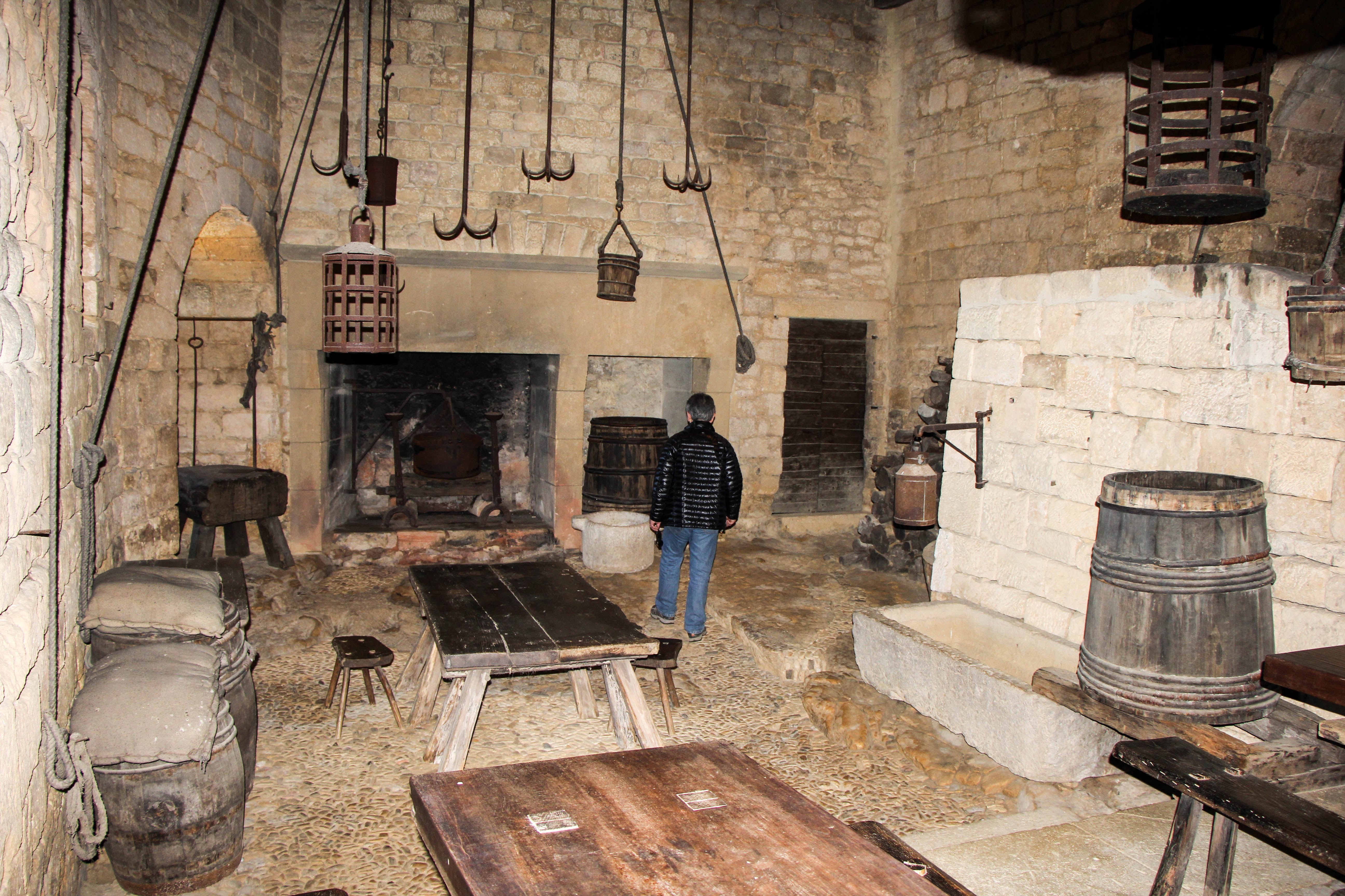 Winter Pics from Beynac – Dordogne, France | Cooking in ... Medieval Castles Floor Plan