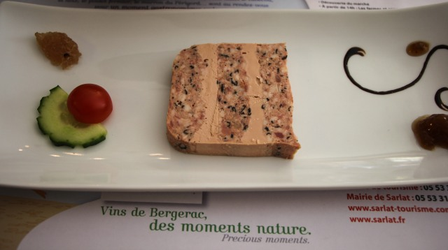 Dordogne - Sarlat - Le Bistro - Goose menu