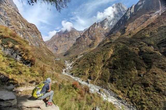 Trekking Annapurna ABC - Bamboo to Deurali (11)