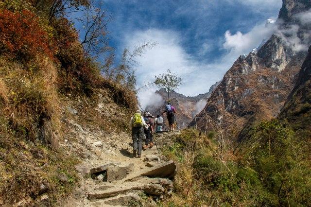 Trekking Annapurna ABC - Bamboo to Deurali (5)