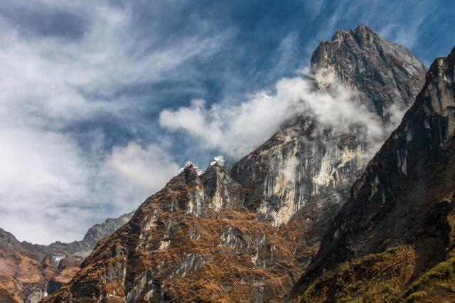 Trekking Annapurna ABC - Bamboo to Deurali (6)