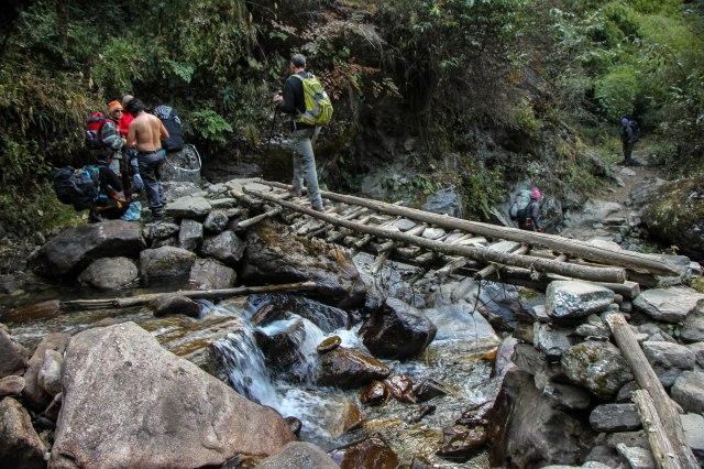 Trekking Annapurna ABC - Bamboo to Deurali (9)