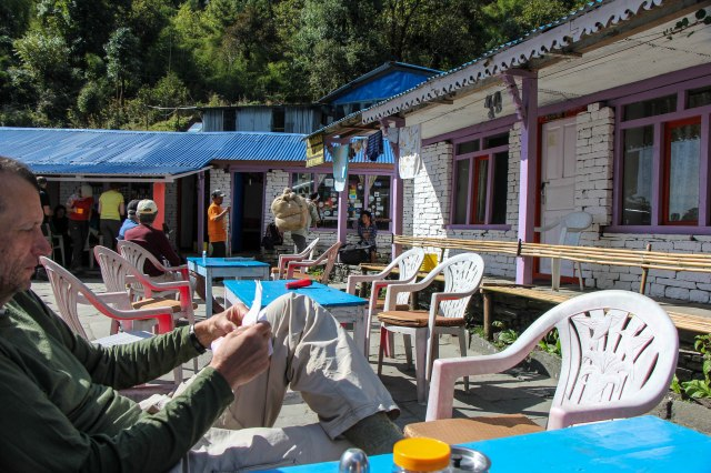 Trekking Annapurna ABC - Chomrong to Bamboo (1)