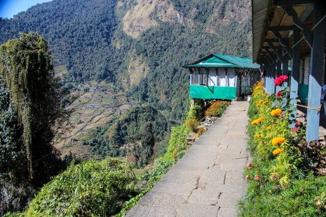 Trekking Annapurna ABC - Chomrong to Bamboo (10)