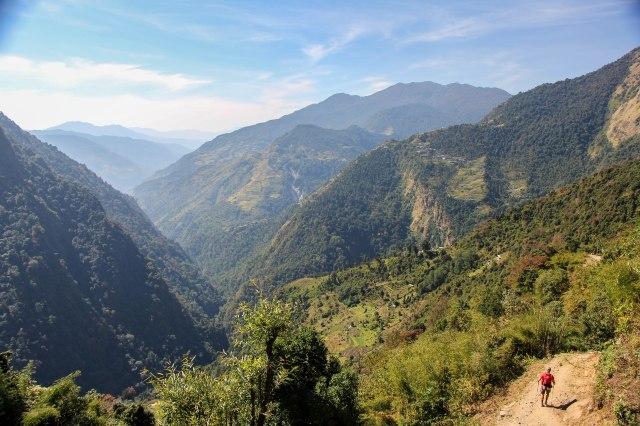 Trekking Annapurna ABC - Chomrong to Bamboo (11)