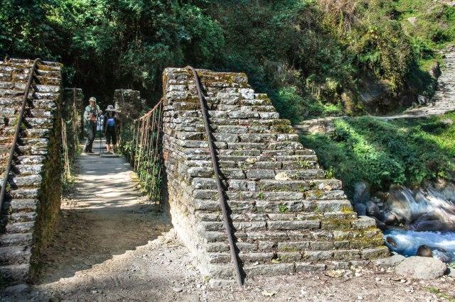 Trekking Annapurna ABC - Chomrong to Bamboo (4)
