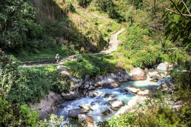 Trekking Annapurna ABC - Chomrong to Bamboo (7)