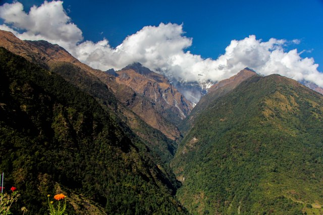 Trekking Annapurna ABC - Chuile to Chomrong-16