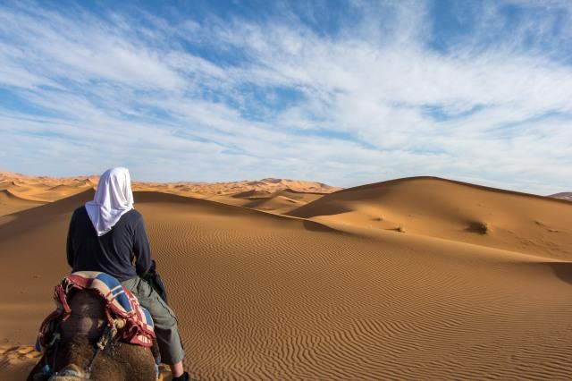 Merzouga - Camel Ride - Erg Chebbi