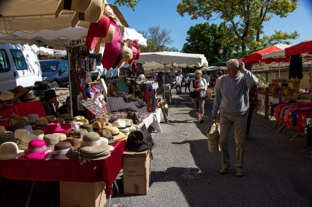 Gordes Tuesday Market