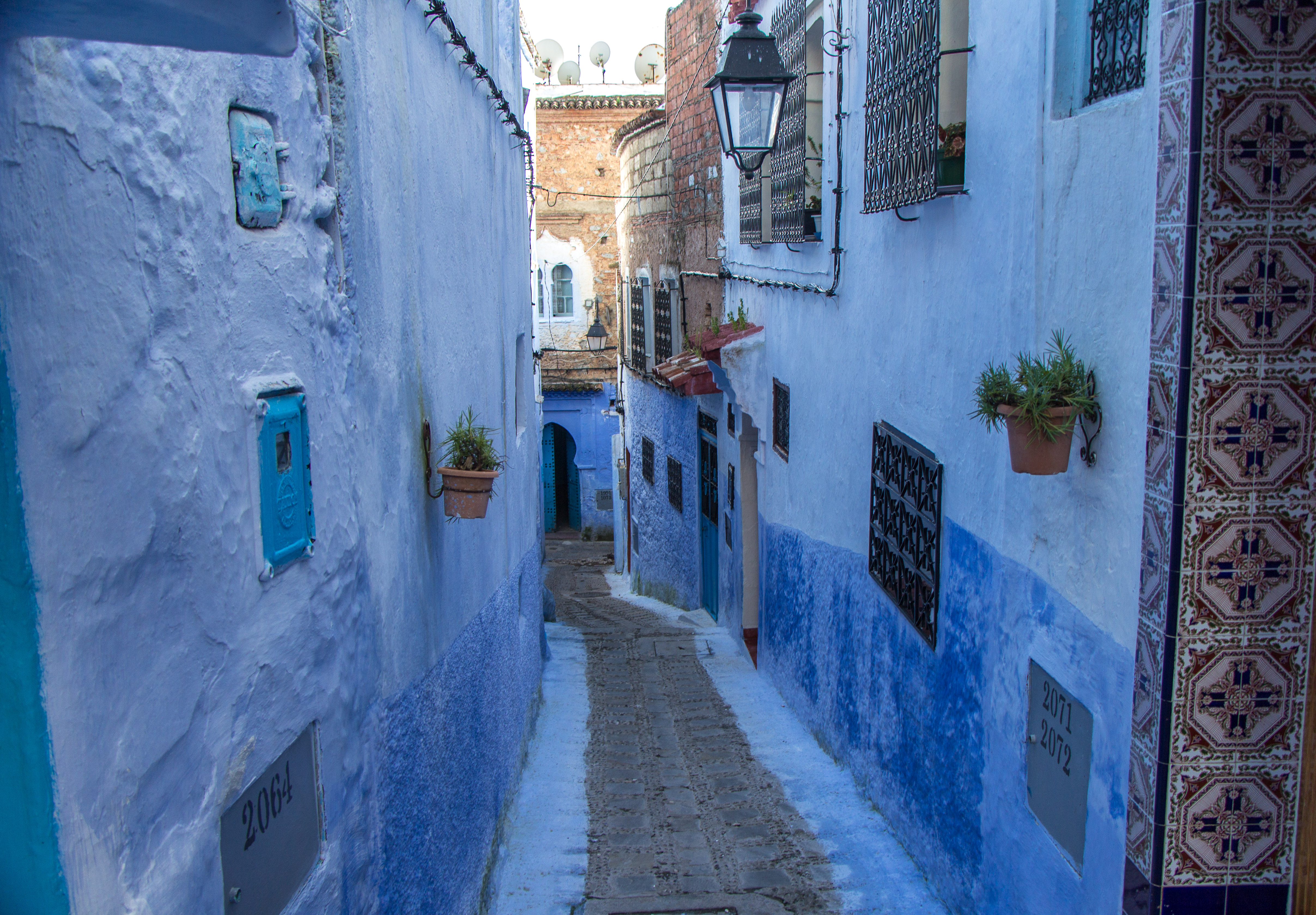 Chefchaouen Medina In Pictures Morocco Cooking In Tongues