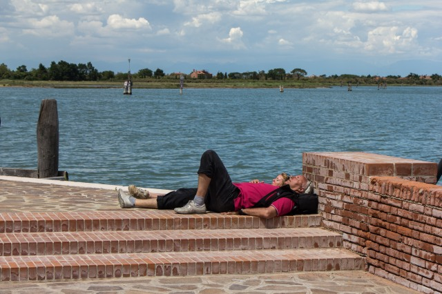 Burano - Taking in the Ambiance