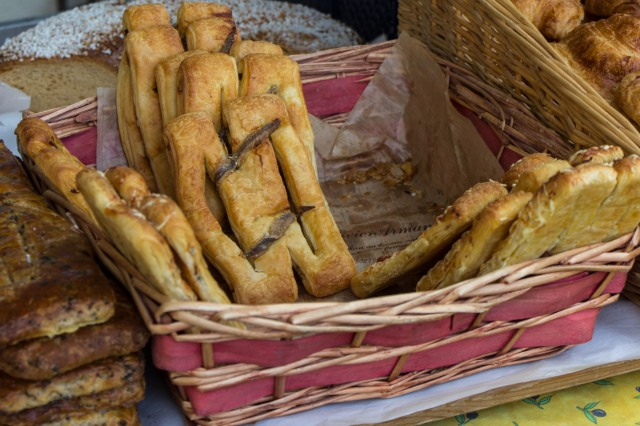 anchovy fougasse