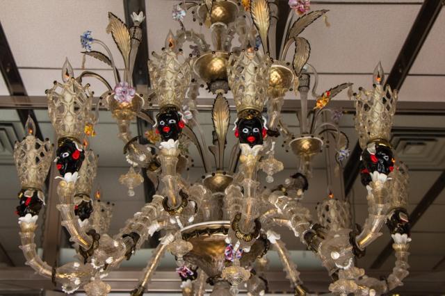 """Murano Glass; """"Creative"""" Chandalier"""