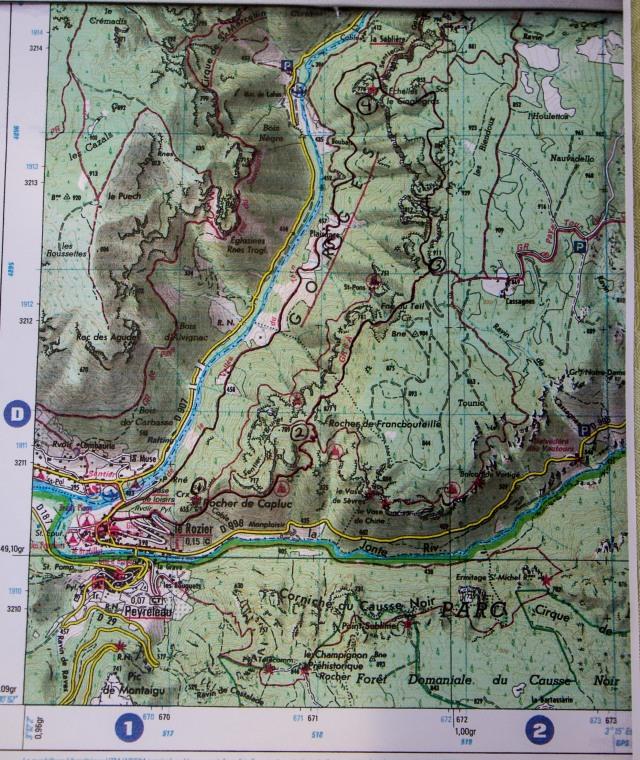 Tarn Gorge - Hike to Echelles le Cinglegros-1