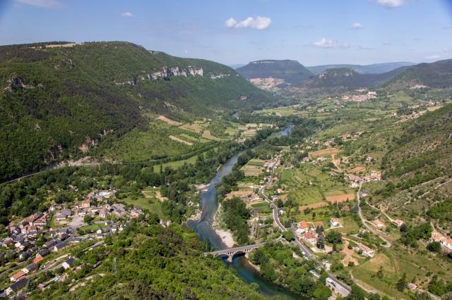 view from Rocher de Capluc