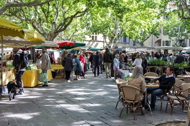 Uzes Wednesday Market