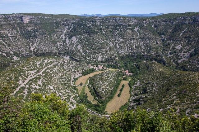 view from La Baume-Auriol