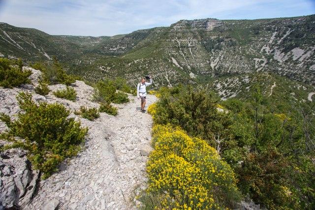 hike to La Baume-Auriol