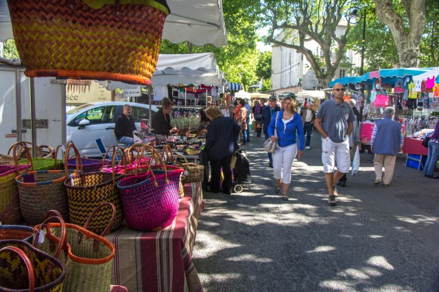 St Jean du Gard Tuesday Market-1