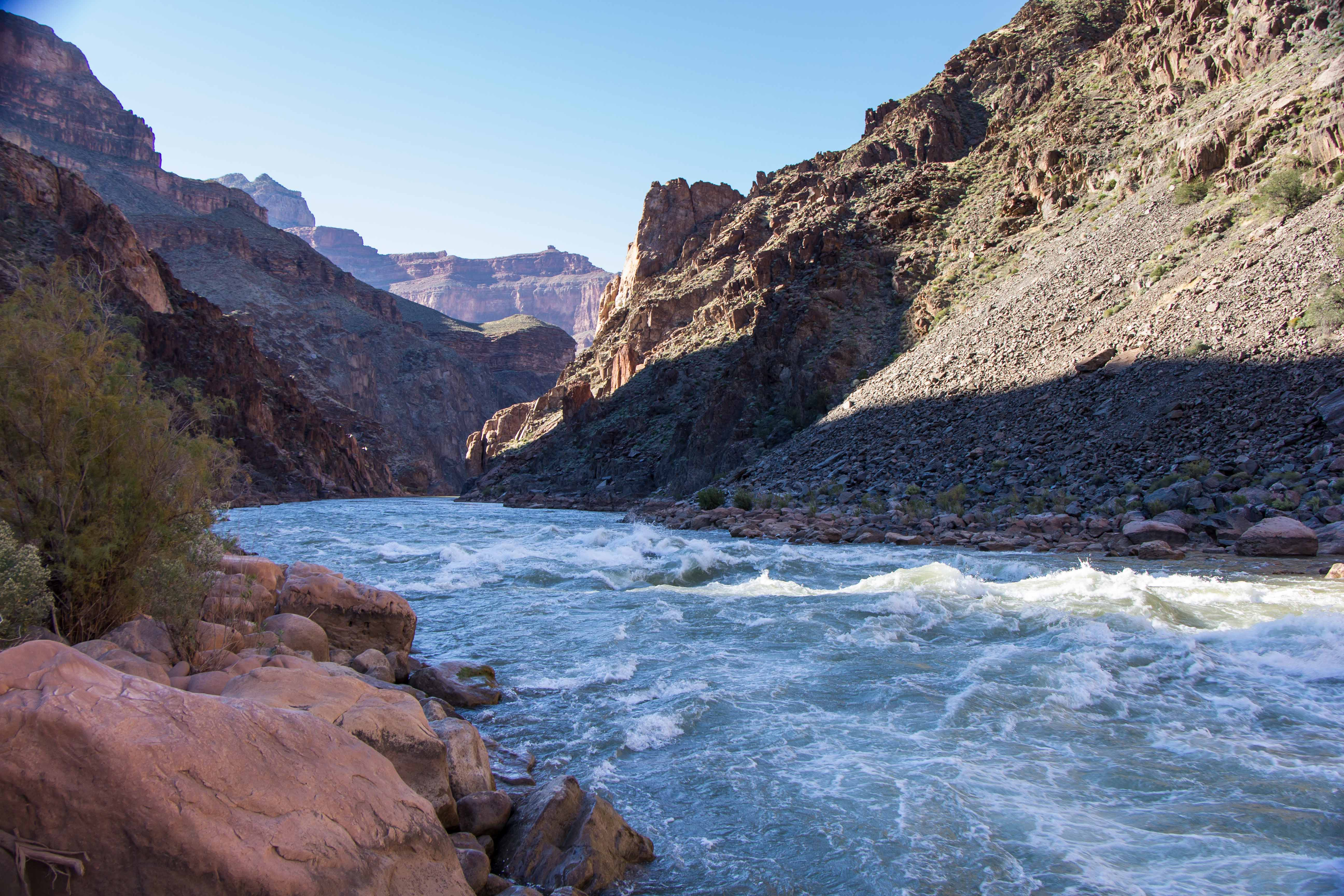 Grand Canyon Monument Creek To Hermit Rapids Cooking In