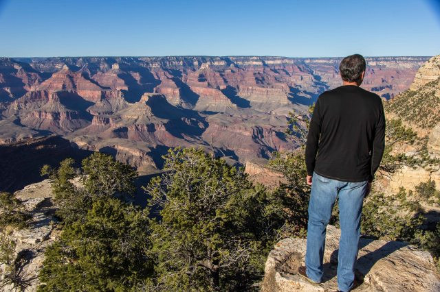 View from South Rim Walking Path