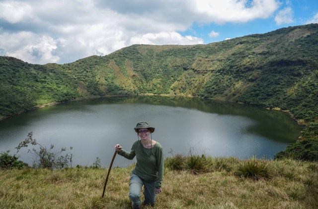 Mount Bisoke rwanda tourism