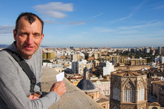Valencia - view from Cathedral Bell Tower