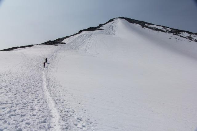 Jotunheimen - hike down Galdhopiggen
