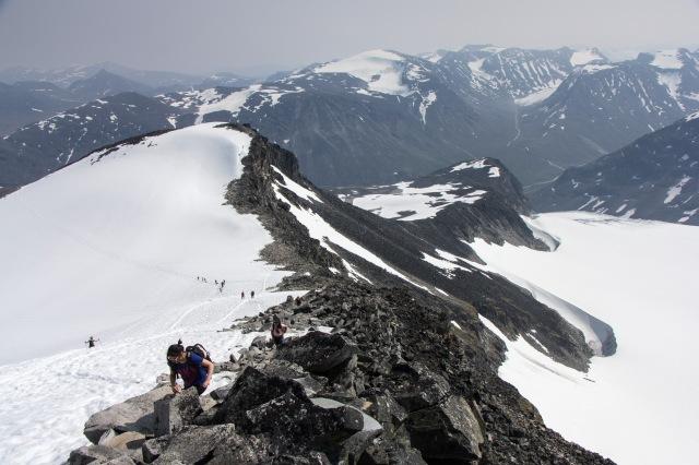 Jotunheimen - Hike up Galdhopiggen