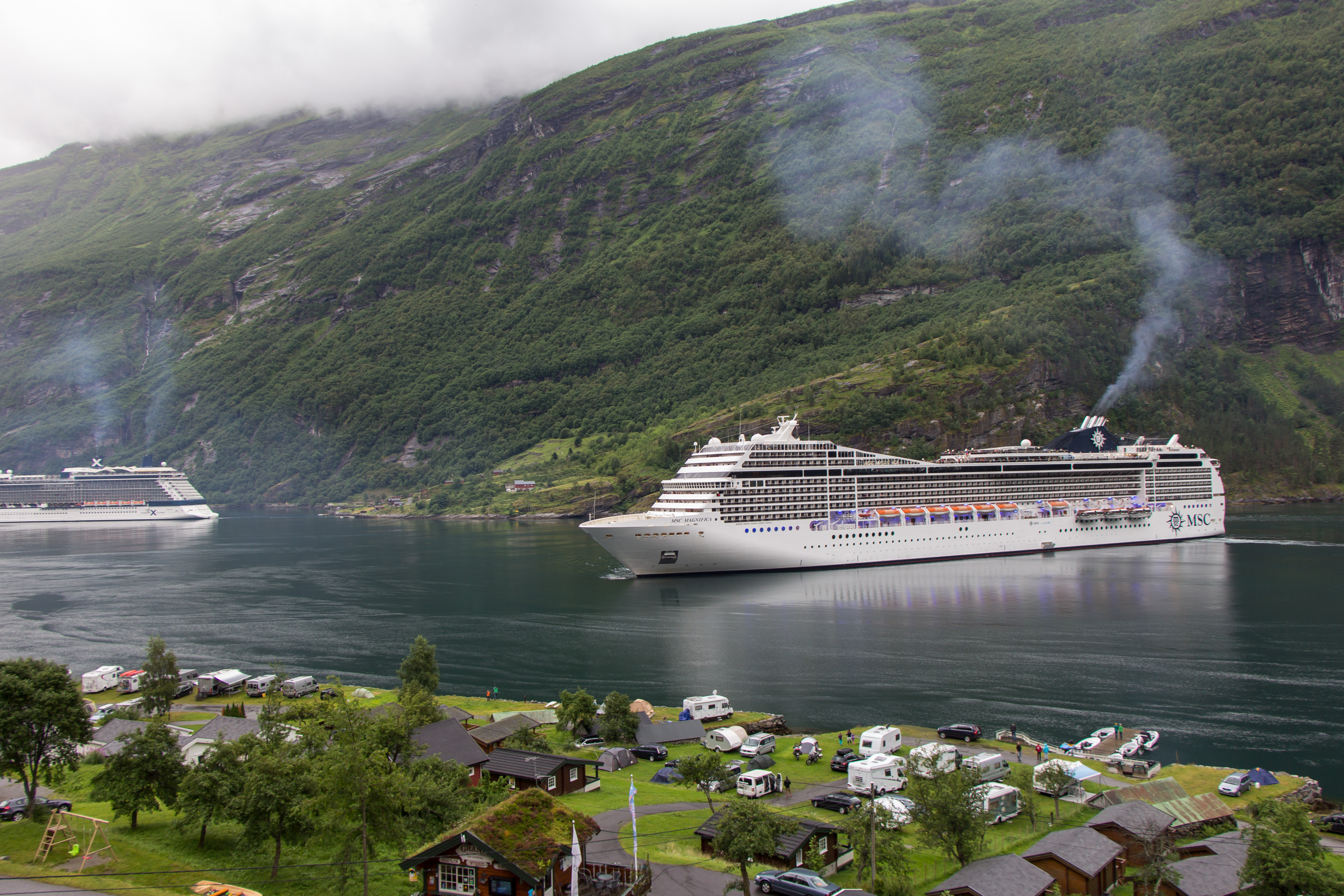 Geiranger Norway  City pictures : Sleeping and Dining in Geiranger, Norway | Cooking in Tongues