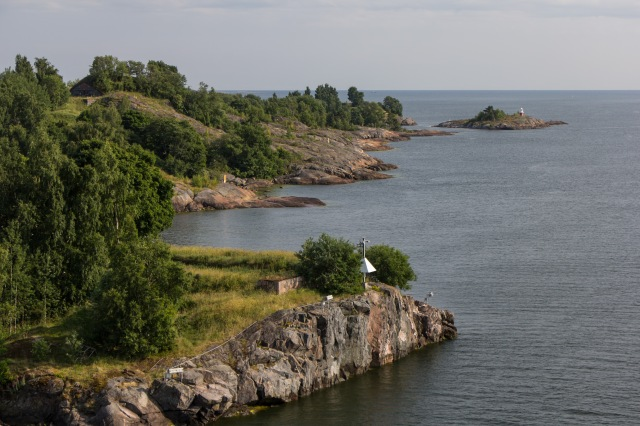 Military Emplacements -leaving Helsinki