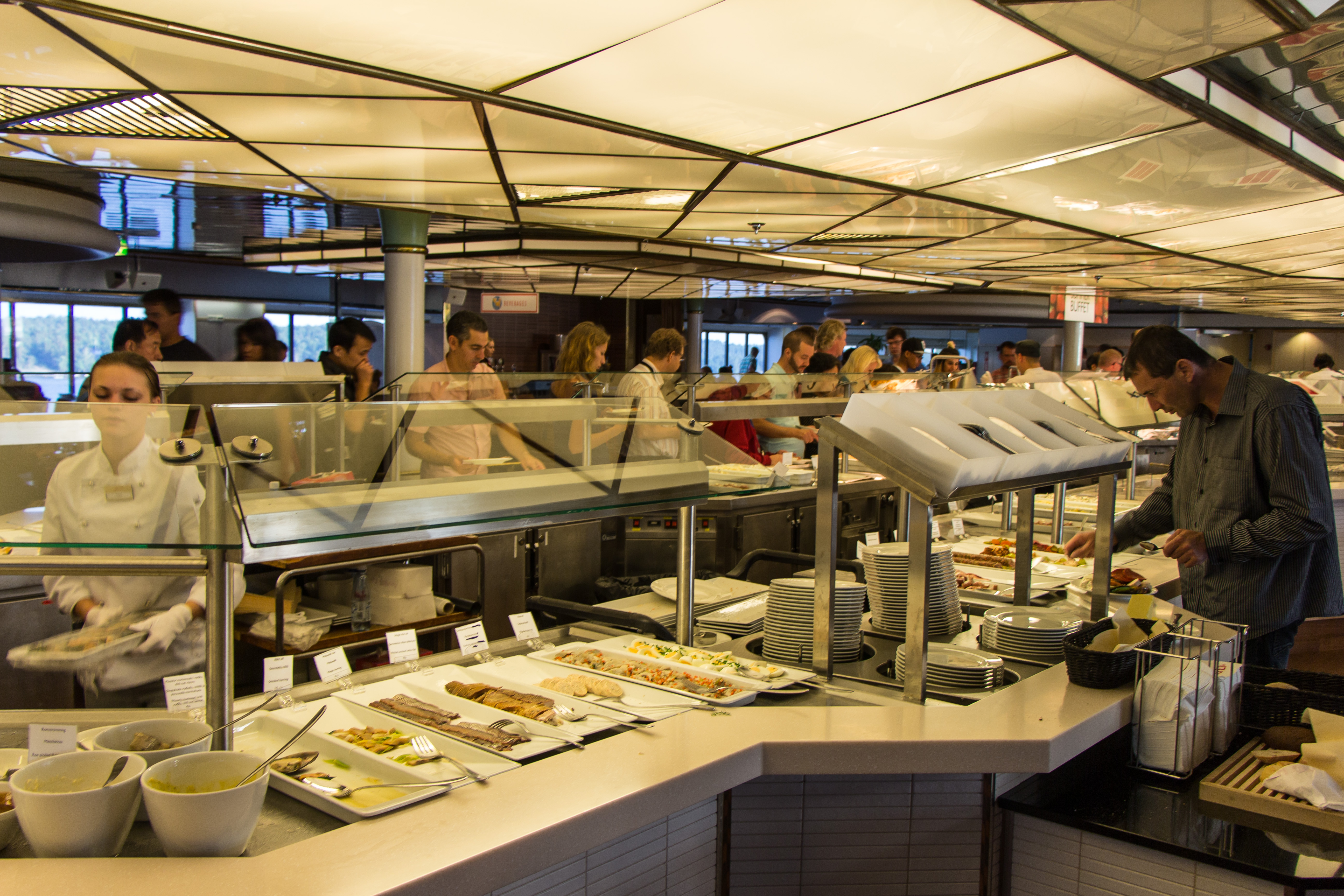 Viking Line Ferry Stockholm Helsinki And Back Cooking In