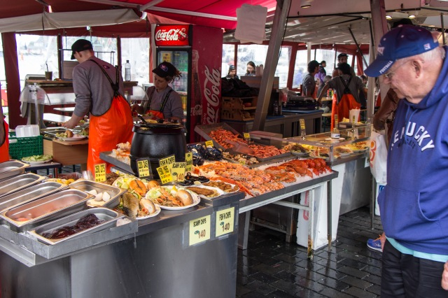 A walk through bergen norway cooking in tongues for City fish market menu