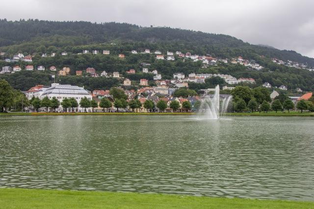 Bergen - near the lake