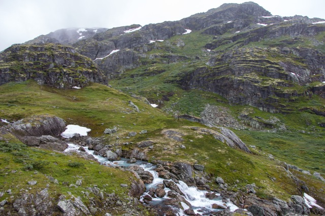 Drive from Geiranger to