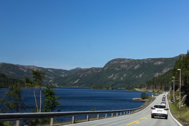 Drive from Jorpeland to Kristiansand