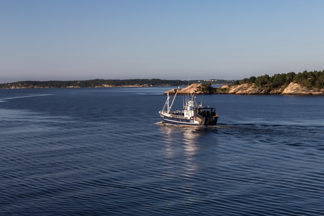 Ferry out of Kristiansand