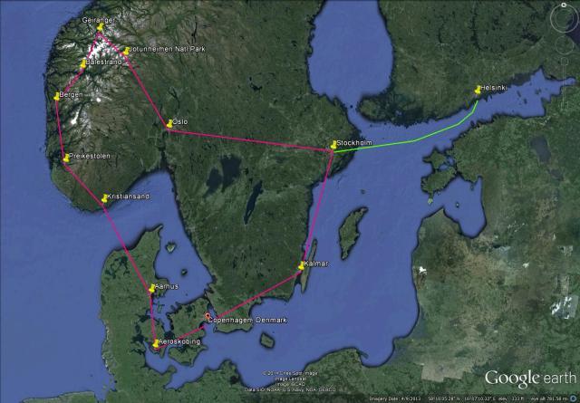 Scandinavia Road Trip