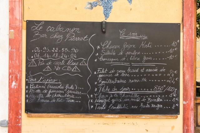 Ajaccio - Restaurant Le Cabanon