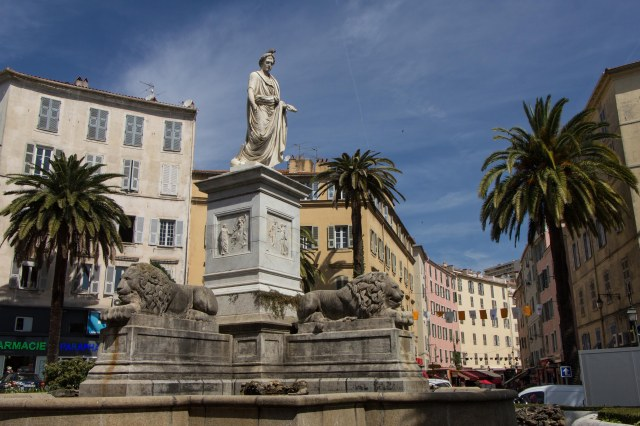 Ajaccio - Place Foch