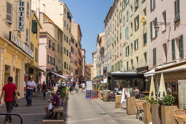 Ajaccio - Rue de Cardinal Fesch